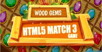 Gems wood html5 game