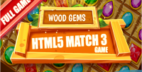Gems wood html5 game levels 25