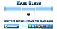Glass hard