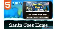 Goes santa home