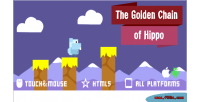 Golden chain of hippo game mobile html5 golden