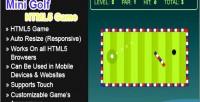 Golf mini html5 game