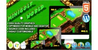 Golf mini world game sport html5