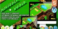 Golf mini world game sport html5