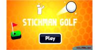 Golf stickman html5 game