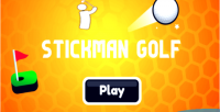 Golf stickman html5 game