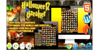 Halloween breaker html5 construct game 3 match