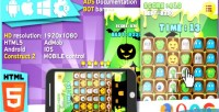Halloween match3 game construct2 ads cocoon capx
