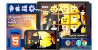 Halloween tictactoe html5 game mobile construct2 ads cocoon capx