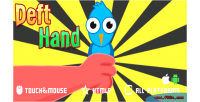 Hand deft game mobile html5