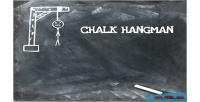 Hangman chalk