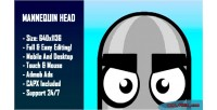 Head mannequin html5 game version mobile construct capx 2
