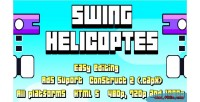 Helicopters swing