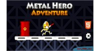 Hero metal adventure