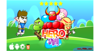 Hero story html5 game construct 2 ads cocoon capx