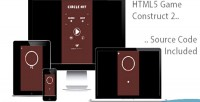 Hit circle html5 game 2 construct