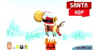 Hop santa christmas game