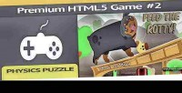 Premium html 5 game puzzle physics 2