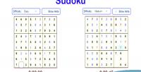 Html sudoku game