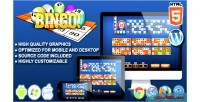 Html5 bingo gambling game