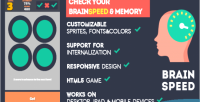Html5 brainspeed game