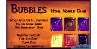 Html5 bubbles mobile game