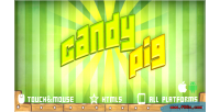 Html5 candypig mobile game