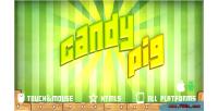 Html5 candypig mobile game
