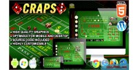 Html5 craps casino game