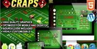 Html5 craps casino game
