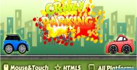 Html5 crazyparking game