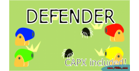 Html5 defender game ios android