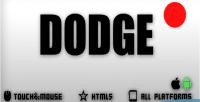 Html5 dodge game
