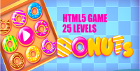 Html5 donuts game levels 25
