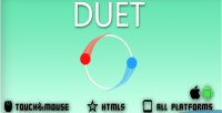 Html5 duet game
