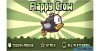 Html5 flappycrow game