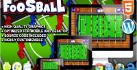 Html5 foosball sport game