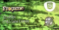 Html5 frogame template