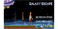 Html5 galaxyescape capx game