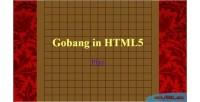 Html5 gobang game