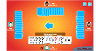 Html5 hearts game