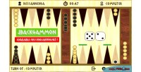 Html5 jbackgammon board game
