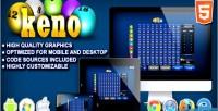 Html5 keno casino game