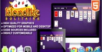Html5 klondike solitaire game