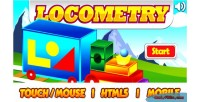 Html5 locometry educational game