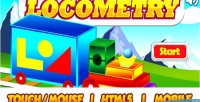 Html5 locometry educational game