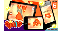 Html5 ojello puzzle game