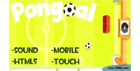 Html5 pongoal mobile game