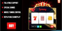 Html5 premium slot machine