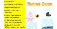 Html5 runner game